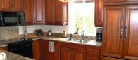 Traditional cherry wood kitchen II